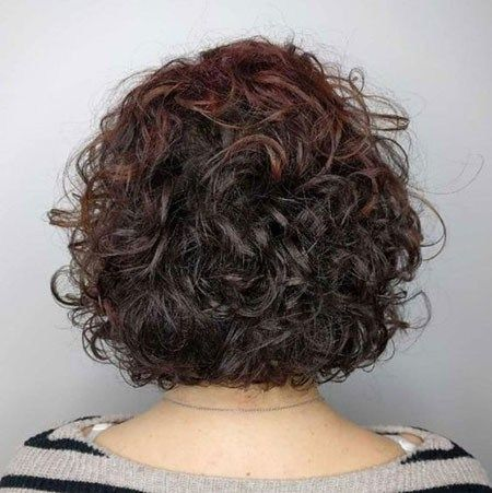 Popular Short Curly Hairstyles 2018 2019 Permed