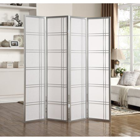 Home 4 Panel Room Divider Room Divider Screen Panel Room Divider