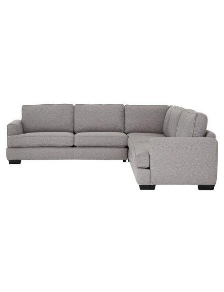 Luca Max Corner Sofa Grey Grey Chaise Sofa Corner Sofa Chaise Sofa