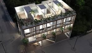 Buy Now Best Apartments For Sale In Tulum Three Floors Apartment With Living Room Kitchen Dining Room Mexico Real Estate Apartments For Sale Cool Apartments