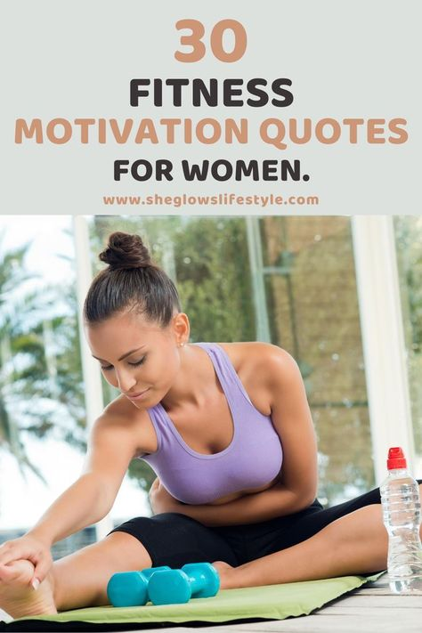 30 Fitness Motivation Quotes for women