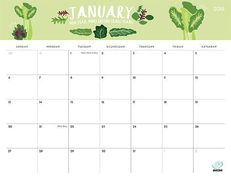 2020 And 2021 Foodie Printable Calendars For Moms Imom Calendar Printables Calendar Uk Free Printable Calendar