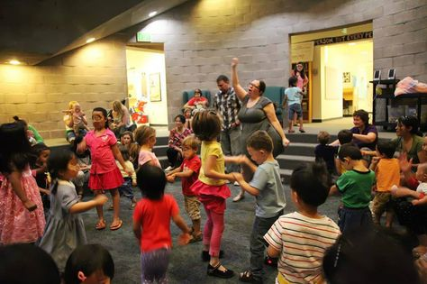 baby dance storytime/music and movement storytime