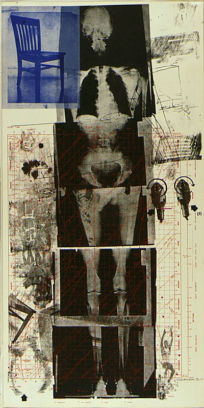"""Robert Rauschenberg (American, Booster from Booster and 7 Studies, Lithograph and screenprint, image: x cm; Edition of "" Art. Robert Rauschenberg, Kunst Inspo, Art Inspo, Collage Art, Collages, Modern Art, Contemporary Art, Francis Picabia, Art Brut"