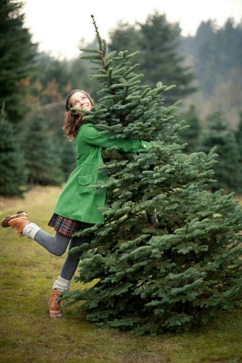 The joy of finding the perfect tree
