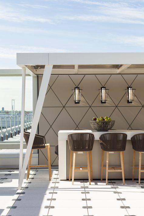 Fooq\u0027s Miami / Exterior Bar  Lounge Area  une collection d\u0027idées - toile tendue pour terrasse