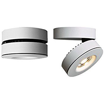 10w Led Spotlight 360 Adjustable Ceiling Downlight Surface Mounted Cob Track Lighting Led Aluminum Wall Lamp Two In One Led Lights Led Wall Lamp Led Spotlight