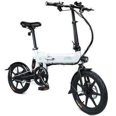 Fiido D2 Milk White Electric Bikes Sale Price Reviews Folding