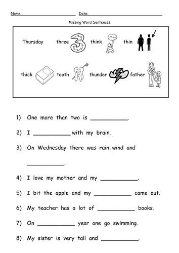 Th Digraph Worksheets By Barang Teaching Resources Tes Digraph Words Phonics Worksheets Reading Worksheets Year english worksheets tes