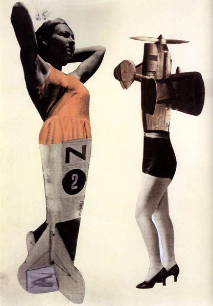 Bruno Munari, And Thus We Would Set about Seeking an Aeroplane Woman, 1939