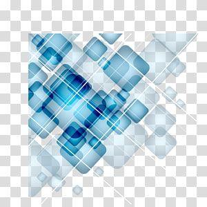 Blue Square Digital Technology Blue Geometric Squares Gradient Transparent Background Png Clipart Circle Graphic Design Transparent Background Clip Art