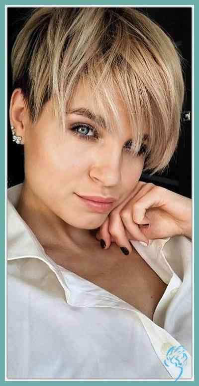 Kurze Haare Frauen 2019 Frauen Haare Kurze Frisuren Neue