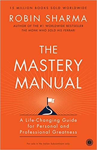 The Mastery Manual Sharma Robin 9780974851259 Amazonsmile
