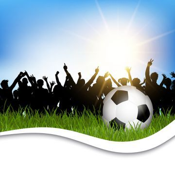 Football In Grass With Crowd 1601 Soccer Sport Football Png And Vector With Transparent Background For Free Download Soccer Soccer Backgrounds Soccer Ball