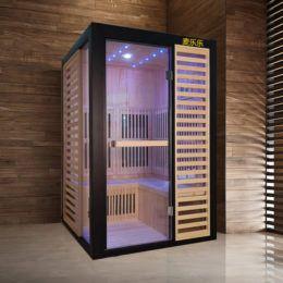 2 Person Baths Infrared Sauna Sauna Room Far Infrared Sauna Steam Shower Sauna Combo Concrete Shower Sauna Shower