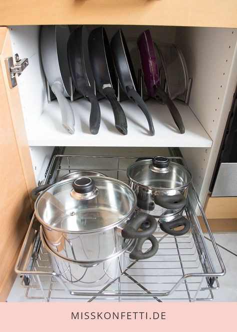 Order in the kitchen - organize cooking accessories - Haushaltstipps - Home Sweet Home