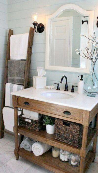 Sensational Rustic Glam Bathroom Decor Country Bathroom Ideas On A Home Interior And Landscaping Ologienasavecom