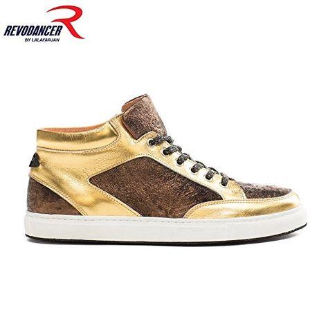 99416d87a1471a Revodancer Gold Sneaker