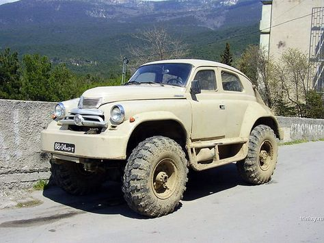 . GAZ M 72  the  First SUV    Soviet union  Cross country and Crazy cars