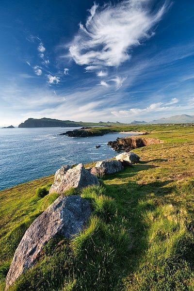 County Kerry Ireland In 2020 Ireland Vacation Ireland Landscape Nightlife Travel