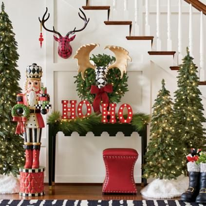 Long Needle Cordless Garland In 2020 With Images Holiday Decor