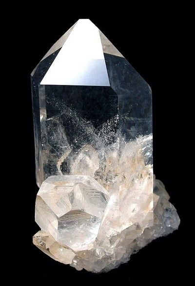 Quartz: is THE most powerful healing stone and energy amplifier; works at the very specific energy vibration as the energy work requirements; raises energy to the highest possible level while enhancing attunement, psychic ability, and intuition |