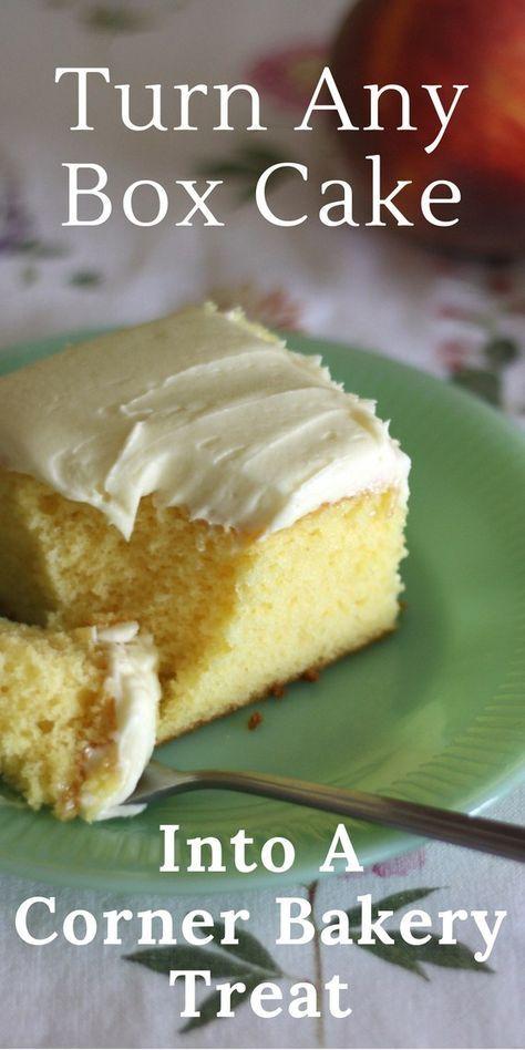 Sour Cream Cake By Mary Beth Sock Box 10 Recipe In 2020 Sour Cream Recipes Boxed Cake Mixes Recipes Sour Cream Cake