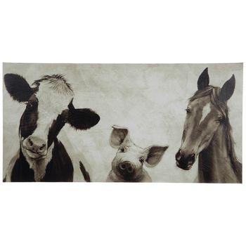 Sepia Farm Animals Canvas Wall Decor Hobby Lobby 5709340 In 2021 Animal Bedroom Farm Animals Decor Animal Canvas