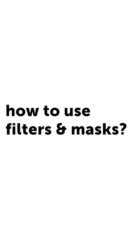 When in doubt put in a filter on it! PicsArt has many, including Masks. Here's how to apply them. #presets #filters #masks