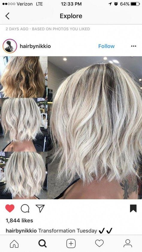 Best of balayage medium length haircuts & hairstyles for 2019 34 #pixiecutbalayage