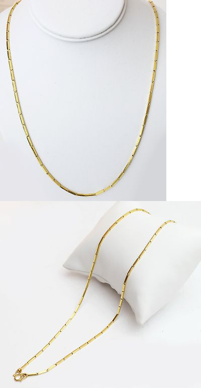 """16/""""-30/""""MEN 14K GOLD FINISH 4MM SILVER//GOLD ICED 1 ROW TENNIS CHAIN NECKLACE*BN2"""