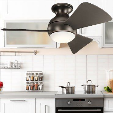 Kitchen Ceiling Fans With Lights Ceiling Fan In Kitchen Ceiling