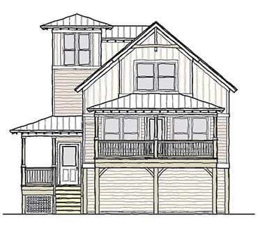 17 best drive under garage house plans images on pinterest beach house plans beach houses and beach homes - House Plans Drive Through Carport