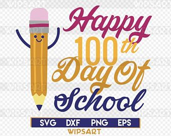 100 Day Of School Svg File 100 Days Smarter Svg For Shirt Etsy 100 Days Of School Silhouette Diy Cricut Crafts