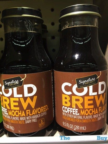 Safeway Signature Select Mocha Cold Brew Coffee Coffee