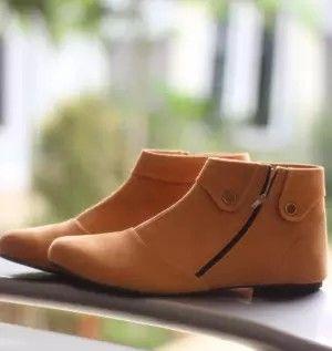 Sepatu Boots Wanita Korean Style Sepatu Boots Sepatu Kets Sepatu