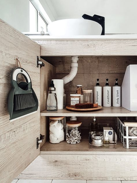 6 Under-Sink Storage Ideas That Will Bring Peace to Your Bathroom
