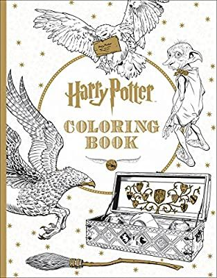 Harry Potter Coloring Book Scholastic 9781338029994 Amazon Com Books Harry Potter Coloring Book Harry Potter Coloring Pages Harry Potter Colors