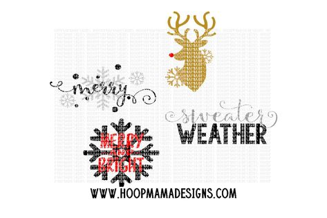 Christmas Medley By Hoopmama Designs Thehungryjpeg Com Medley Spon Christmas Hoopmama Thehungryjpeg Adver Christmas Medley