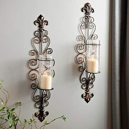 Kirkland S Tuscan Decorating Wall Candles Sconces