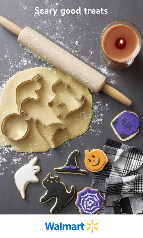 Treat your family to homemade Halloween goodies. Whether you're baking sweets, brewing concoctions, or cooking other festive food, Walmart can help you conjure up creativity in the kitchen.