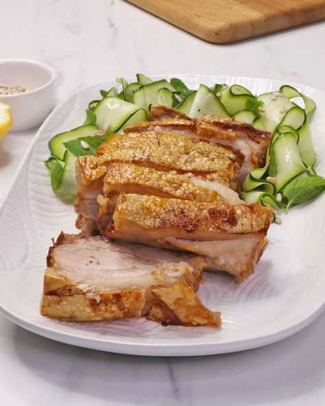 This recipe basically makes itself — Foolproof Air Fryer Pork Belly, made with Australian Pork.