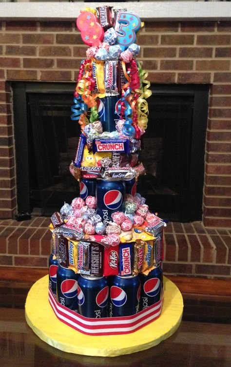 This would be the best cake ever! But most unhealthy.  Womp womp