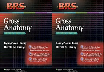 BRS GROSS ANATOMY, PDF for FREE Download, presents the