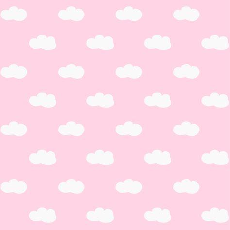 papel scrap para descargar..diseño de nubes en diferentes colores