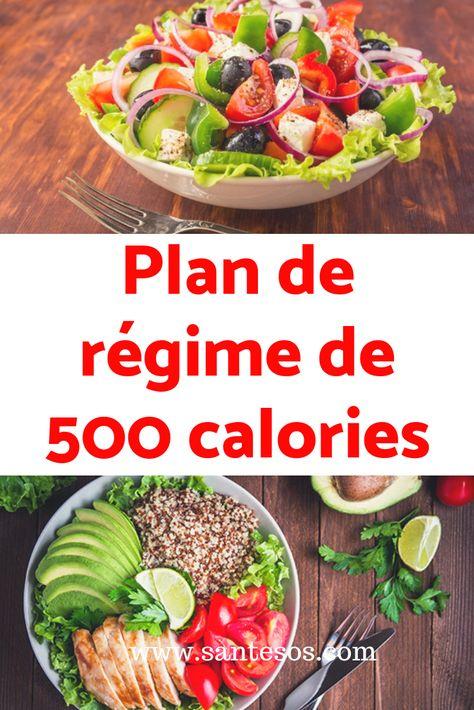 5 menus gourmands à moins de 500 kcal