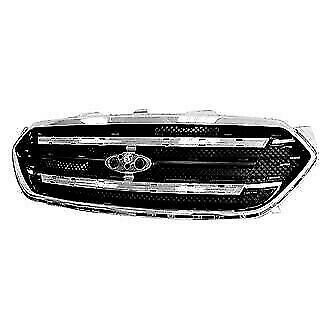 New Grille Shell Frame Front For Ford Taurus 2013 2016 Fo1202104 4