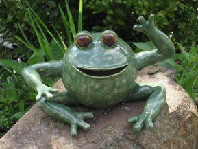Frosch Keramik Keramik Tiere Keramik Tiere