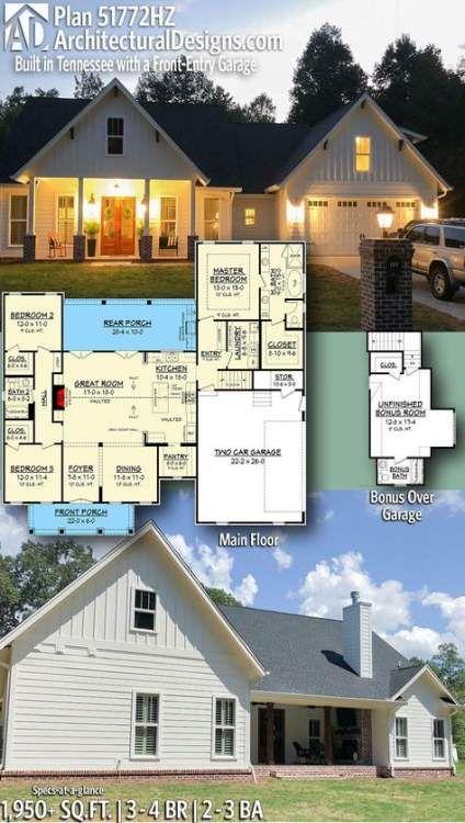 26 Ideas Modern Farmhouse Blueprints Bedrooms In 2020 House Blueprints New House Plans Modern Farmhouse Plans
