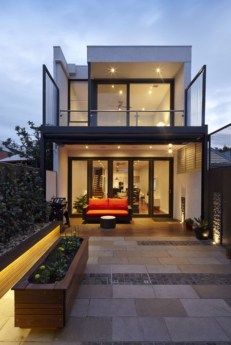 Gallery Houses Modern Minimalist House Narrow House Designs Architect Design House